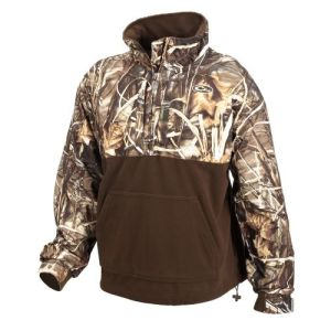 Drake Men's MST Fleece Lined Pullover in Realtree MAX-4 Camo $79.99