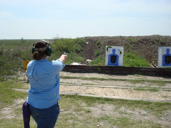 Shooting from the Flashbang Holster