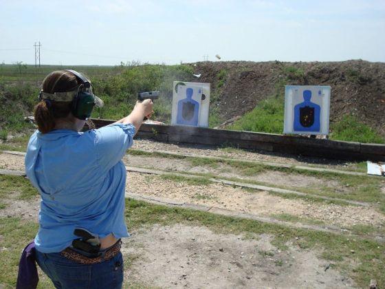 Shooting Range women's holsters