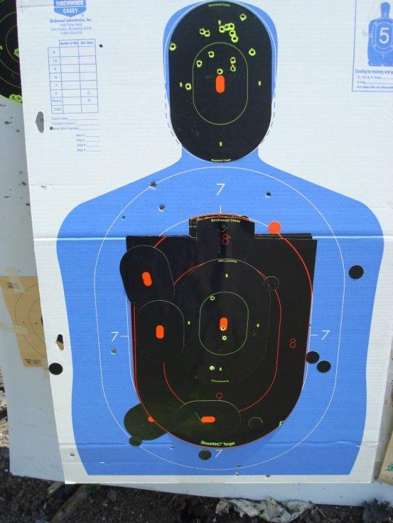Shooting Target AR15