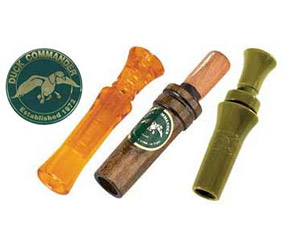 Duck Commander brand duck calls, available in their online store: http