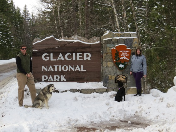 Glacier National Park in Winter